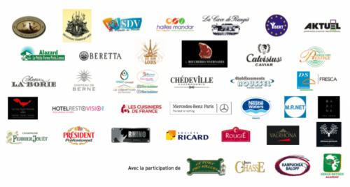 Les Partenaires de l'Assiette d'Or 2017