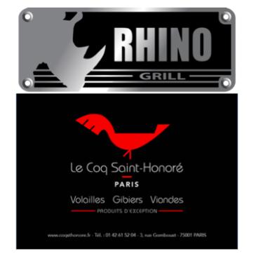 Quand Rhino Grill rencontre Le Coq St Honoré